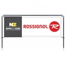 Banner Sling with 3' x 8' Graphic, Spike Base