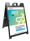 Signicade Double Sided A-Frame, Replacement Graphics(2)