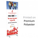 "24"" w x 82"" h Retractable Banner & Stand"
