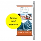 "24"" Single Boulevard Banner Hardware Only"