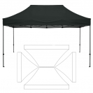10' x 15' HD Canopy and Frame - Blank
