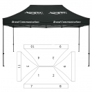 10' x 15' HD Canopy and Frame - 11 Imprint Locations