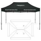 10' x 15' HD Canopy and Frame - 3 Imprint Locations