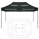 10' x 15' HD Canopy and Frame - 5 Imprint Locations