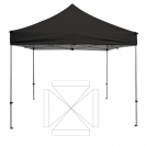 10' x 10' Transporter Canopy and Frame - Blank