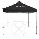 10' x 10' Transporter Canopy and Frame - 1 Imprint Location